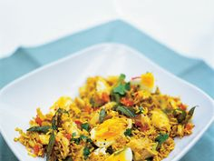 kedgeree, strangely satisfying and strangely the kids love it