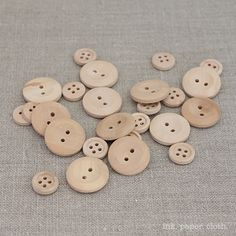 alterable wood buttons