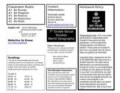 Syllabus Template For Explaining How To Read A Syllabus Nothing