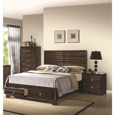 Brianna 3 Piece Bedroom Collection