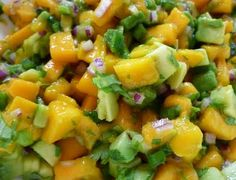 Foods For Long Life: Manila Mangos Are Here! These Sweet And Delicious Fruits Are Great In Raw Salsa And Chia Pudding- Two Easy Vegan Recipes!