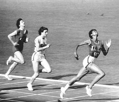 Wilma Rudolph was the fastest woman runner in the world in 1960, winning 3 gold medals at the Olympics that year. She remained an inspiration for decades as a pioneering black woman athlete and as someone who overcame adversity (she had polio) to find success in sports.