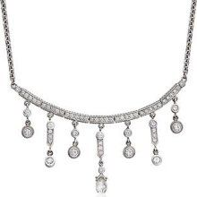 C. 2000 Vintage Doris Panos 2.40ct t.w. Diamond Necklace. 15.5