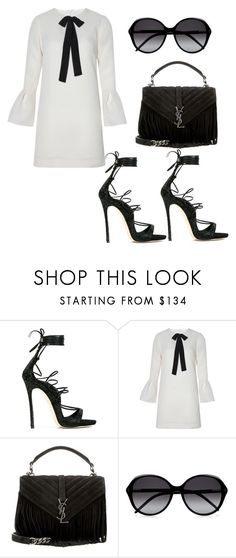 """""""Untitled #3261"""" by loveparis7 ❤ liked on Polyvore featuring Dsquared2, Related, Yves Saint Laurent and Chloé"""