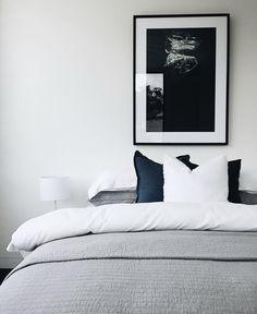 Bedroom, Grey, Furniture, Home Decor, Gray, Decoration Home, Room Decor, Bedrooms, Home Furnishings