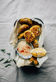 Veggie, hemp & millet nuggets are simple to throw together and delicious as a main, side or snack. Vegan, gluten-free, nut-free, and sugar-free.