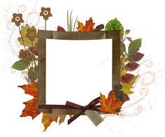 Transparent Autumn Frame