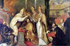 Coronation of CharlesMagne
