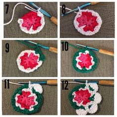 #cathkidstoncrochetflower Instagram photos | Websta