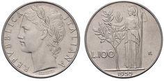 100 lire 1958