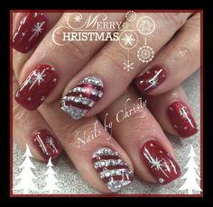 Christmas Nails by Christy @ Mane Tamers Mishawaka
