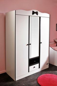 Kleiderschrank Maya I #Möbel #weiß #Schlafzimmer #Schrank