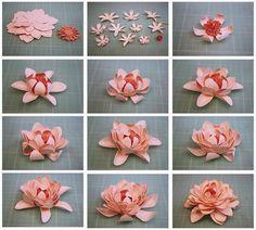 Jak zrobić kwiat z foamirana