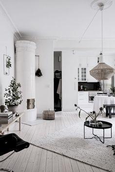 Un deux pièces tout en blanc en Suède - PLANETE DECO a homes world