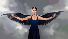 Katniss in Mockingjay dress by MartaDeWinter.deviantart.com on @deviantART