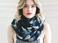 VALLARTA SCARF  Marble by scoutandcatalogue on Etsy, $178.00