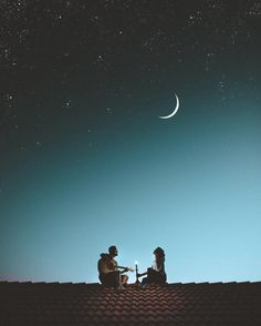 """"""" and in that moment I didn't know what was better - the night sky or his love """" Photo Couple, Couple Art, Love Images, Beautiful Pictures, Couple Illustration, Foto Art, Love Wallpaper, Romantic Couples, Romantic Night"""