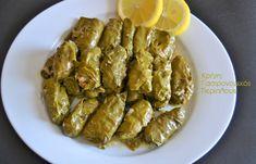 Ντολμάδες με αμπελόφυλλα - cretangastronomy.gr Ethnic Recipes, Food, Anonymous, Essen, Meals, Yemek, Eten