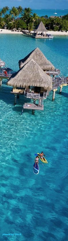 Bora Bora, French Polynesia. #dreamvacation #tropical