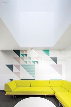 Bold Geometric Forms Take Center Stage in These 6 Forward-Thinking Offices