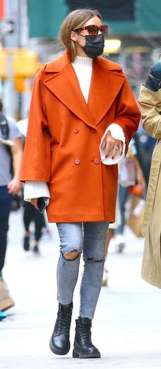 Estilo Olivia Palermo, Olivia Palermo Lookbook, Olivia Palermo Style, Looks Style, Style Me, Winter Looks, Winter Style, Big Fashion, Womens Fashion