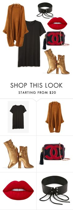 """""""Winter Essentials"""" by li-janee on Polyvore featuring Monki, Gianvito Rossi, Chanel, Lime Crime and Rendor & Steel"""