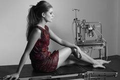 Micro'be' dress - bacterial fermented cellulose as the material base for fabric and clothing.
