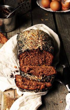 BAYADERKA : Babka z jeżykami/ Rustic chocolate cake with nuts ''Babka''