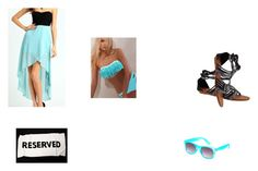 """""""Beach Bum # 4"""" by myl25 ❤ liked on Polyvore featuring L*Space and Dollhouse"""