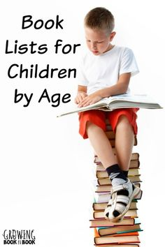 Favorite books for kids of all ages. Book lists begin for babies and move right on up from there. Brought to you by growingbookbybook.com