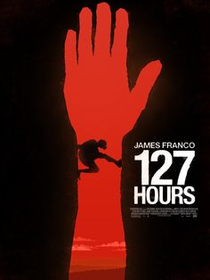 127 Hours minimal poster by Simon Fischer