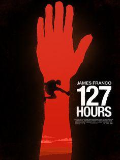127 hours Alternative Movie Poster by Szymon Fischer