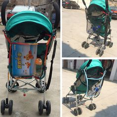 Stroller Mesh Net Clearance Sale Baby Stroller Carrying Bag Baby Carriage Mesh Bag Stroller Accessories 3 Colors