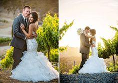 San Diego Style Weddings: Wedding Wednesday: Krystal and Clint. Ingredients: Gershon Bachus Vintners, Hulse Photography, Sweet Pea Floral Creations