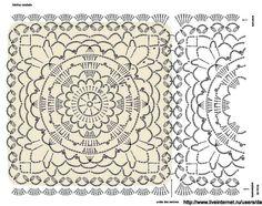 Diy Crochet Rug, Crochet Tablecloth, Crochet Chart, Crochet Granny, Crochet Doilies, Crochet Motif Patterns, Vintage Crochet, Vintage World Maps, Creations