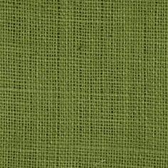 Avocado Burlap Fabric