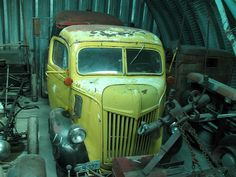 1947 ford coe truck by styleliner51, via Flickr