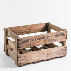 Die alte Weinkiste ist ein wahrer Klassiker. #crate