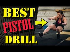 How To Do Pistol Squats (CrossFit Progressions) - YouTube