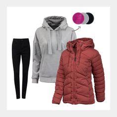 Lass dich von uns inspirieren: www.94fashionstore.de Winter Jackets, Cozy, Outfits, Shopping, Women, Fashion, Outfit, Moda, Winter Vest Outfits