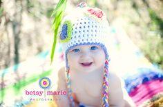 Happy baby!  http://www.betsymariephotography.com