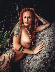 Jane Vurt Tattoo babe