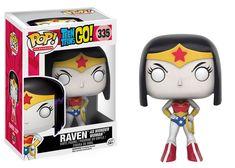 Raven as Wonder Woman Pop Vinyl Pop Television Teen Titans | Pop Price Guide