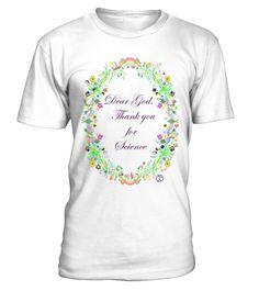 Thanks 4 science white thanks 4 - tshirt - Tshirt