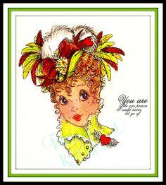 Fiona Henderson  Valentine hat..