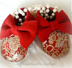 Our Limited Edition Kryssi Kouture Red & Gold Lace Bowties moccasins in red have been restocked   Sizes 0-18M available $39.99 today only! Regular $59.99   Leave email below to order or shop our fall collection link in bio