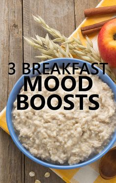 Dr Oz says oatmeal is loaded with Magnesium, which is a natural mood booster. http://www.drozfans.com/dr-oz-food/dr-oz-gefu-spiral-cutter-review-magnesium-fights-depression/