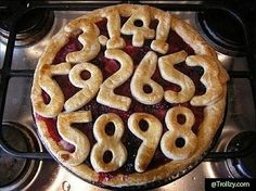 A Pie For Math Lovers