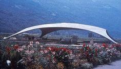 Isler;  Beton Schalen: concrete shells