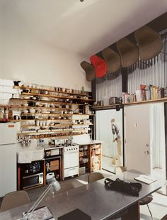 Schafers loft kitchen - making efficient use of space#Repin By:Pinterest++ for iPad#